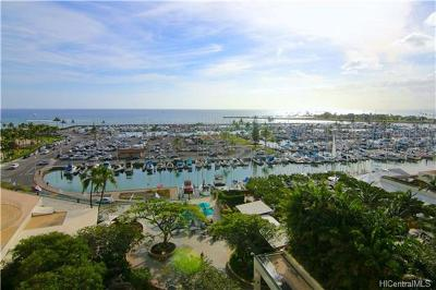 Honolulu Condo/Townhouse For Sale: 1777 Ala Moana Boulevard #1004