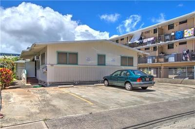 Multi Family Home In Escrow Showing: 1112 Hoolai Street