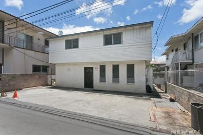 Honolulu Single Family Home For Sale: 1010 Wolter Lane