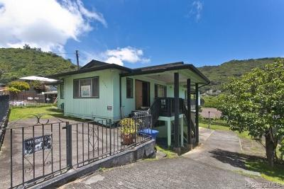 Honolulu Single Family Home For Sale: 2341 Palolo Avenue