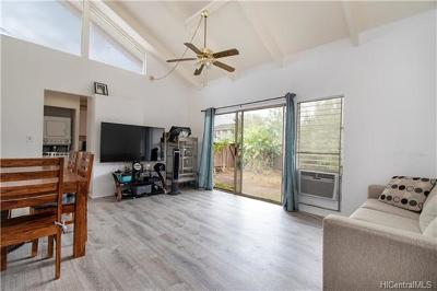Mililani Condo/Townhouse In Escrow Showing: 94-439 Keaoopua Street #112