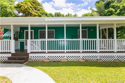 Kaneohe Single Family Home In Escrow Showing: 45-537d Pahia Road