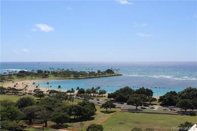 Honolulu County Condo/Townhouse For Sale: 1350 Ala Moana Boulevard #1812