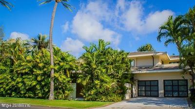 Hawaii County, Honolulu County Single Family Home For Sale: 4351 Kahala Avenue