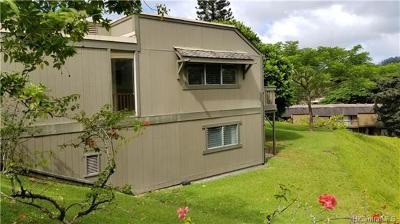 Kaneohe Condo/Townhouse For Sale: 47-736 Hui Kelu Street #1106