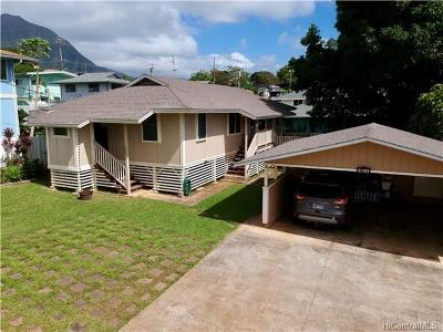 Kaneohe Single Family Home In Escrow Showing: 45-593a Paleka Road #D