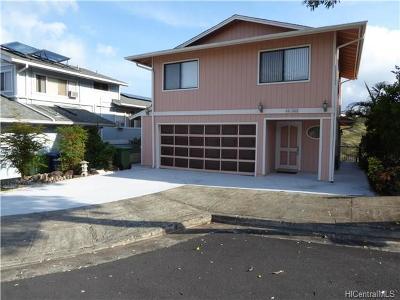 Aiea Single Family Home For Sale: 98-662 Puailima Street