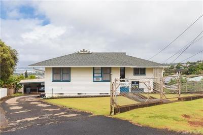 Aiea Single Family Home For Sale: 99-963 Lalawai Drive