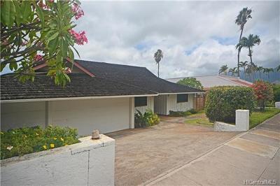 Honolulu HI Single Family Home For Sale: $1,930,000