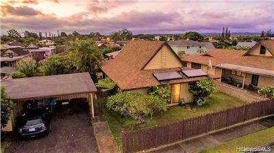 Mililani Single Family Home For Sale: 95-211 Maiao Place