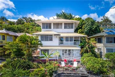 Honolulu Single Family Home For Sale: 2240 Makanani Drive