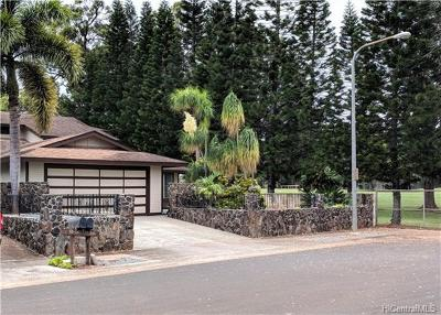 Mililani Single Family Home For Sale: 95-348 Poiki Street