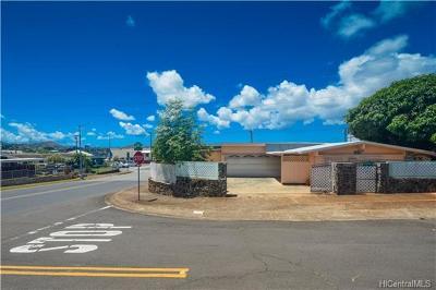 Aiea Single Family Home For Sale: 98-510 Kaamilo Street