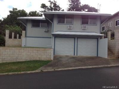 Single Family Home For Sale: 1104 Nanialii Streets