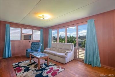 Aiea Single Family Home For Sale: 98-393 Ponohana Loop