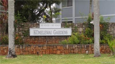 Mililani Condo/Townhouse In Escrow Showing: 95-1005 Ainamakua Drive #33