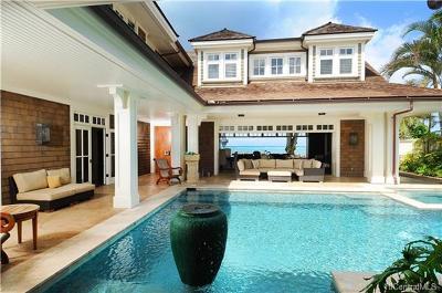 Kailua Single Family Home In Escrow Showing: 884 Mokulua Drive