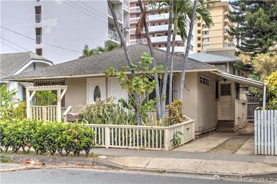Single Family Home For Sale: 315 Liliuokalani Avenue
