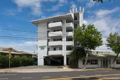 Condo/Townhouse In Escrow Showing: 837 Kapahulu Avenue #302