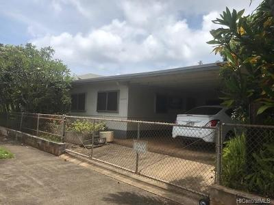 Haleiwa Single Family Home For Sale: 58-366 Kamehameha Highway