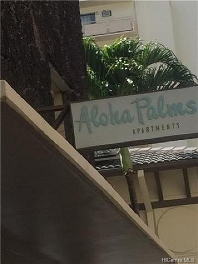 Honolulu County Rental For Rent: 2428 Koa Avenue #102