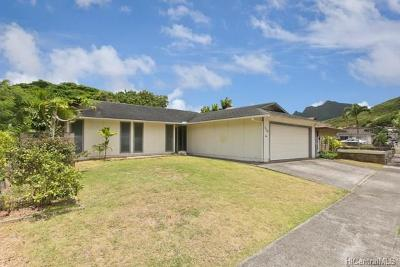 Kailua Single Family Home For Sale: 1110 Akipola Street