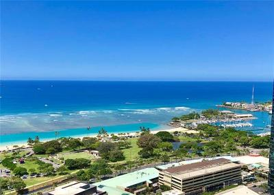 Honolulu County Condo/Townhouse For Sale: 1177 Queen Street #4002