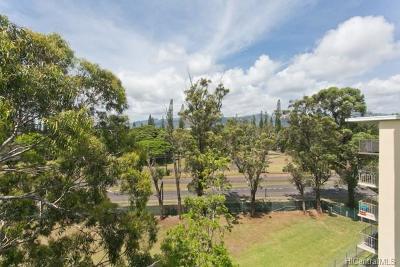 Wahiawa Condo/Townhouse For Sale: 1600 Wilikina Drive #A708