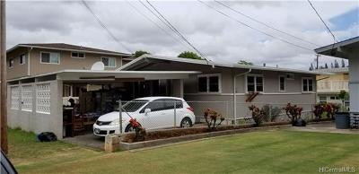 Aiea Single Family Home In Escrow Showing: 98-386 Ponohana Loop
