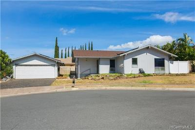 Kapolei Single Family Home For Sale: 92-1263 Hoike Place