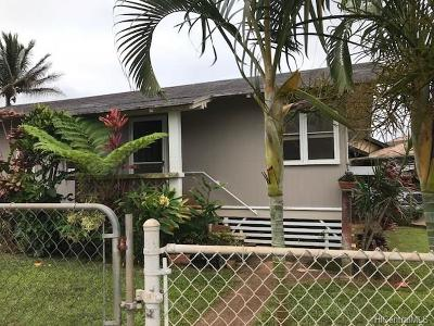 Wahiawa Single Family Home For Sale