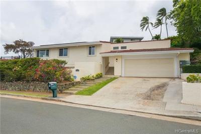 Single Family Home For Sale: 1704 Ihiloa Place