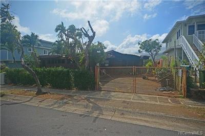 Honolulu Single Family Home For Sale: 434 Kekupua Street