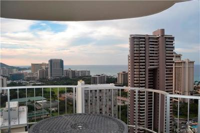 Honolulu County Condo/Townhouse For Sale: 469 Ena Road #3208