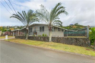 Kailua Single Family Home For Sale: 1315 Akahai Street