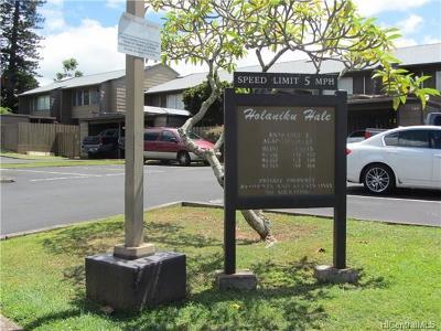 Mililani Condo/Townhouse For Sale: 94-553 Alapoai Street #163