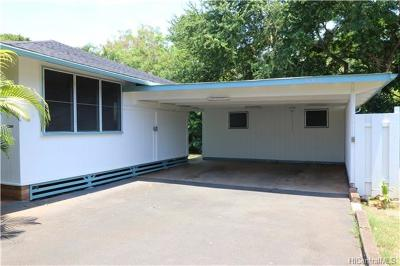 Haleiwa Single Family Home For Sale: 66-060 Haleiwa Loop