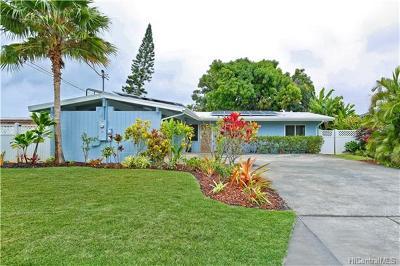 Single Family Home For Sale: 544 Iliaina Street