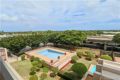 Honolulu County Condo/Townhouse For Sale: 4300 Waialae Avenue #A502