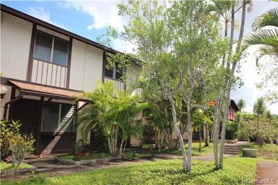Mililani Condo/Townhouse For Sale: 94-1506 Lanikuhana Avenue #582