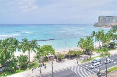 Honolulu Condo/Townhouse For Sale: 2500 Kalakaua Avenue #802