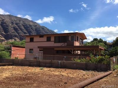 Waianae Single Family Home For Sale: 84-458 Jade Street