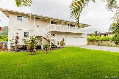 Hauula Single Family Home In Escrow Showing: 53-610 Kamehameha Highway