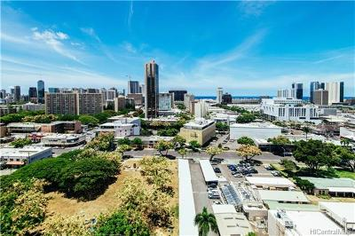 Honolulu Condo/Townhouse For Sale: 1448 Young Street #1807