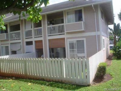 Waipahu Condo/Townhouse For Sale: 94-519 Lumiaina Street #J106