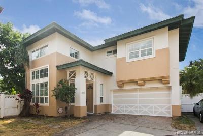 Kapolei Single Family Home In Escrow Showing: 91-1010 Wahipana Street