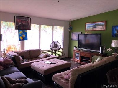Single Family Home For Sale: 87-305 Hookele Street