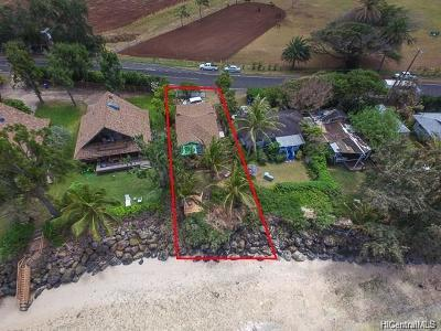 Kahuku Single Family Home For Sale: 57-509 Kamehameha Highway #509