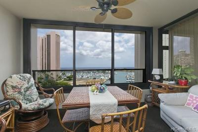 Honolulu Condo/Townhouse For Sale: 1650 Ala Moana Boulevard #1213