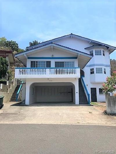 Aiea Single Family Home For Sale: 98-435 Pono Street